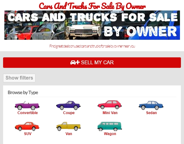 Cars and Trucks For Sale By Owner